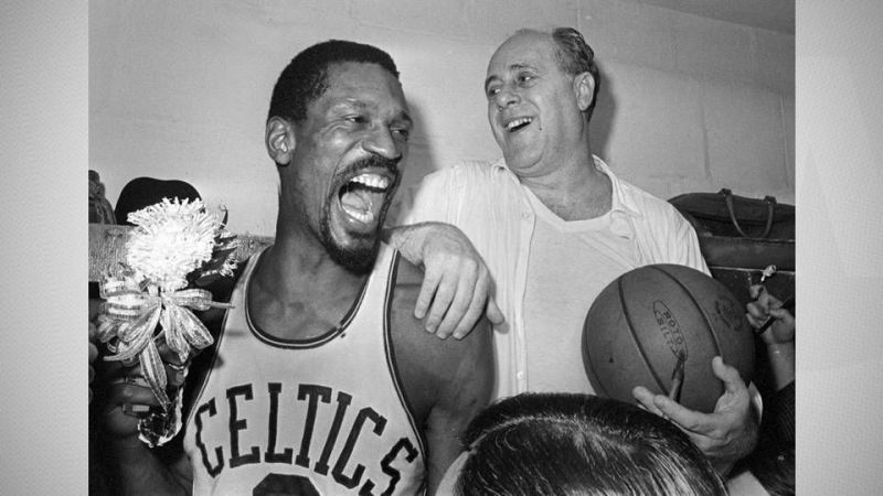 Bill Russell and Red Auerbach presided over the Celtics run of dominance.