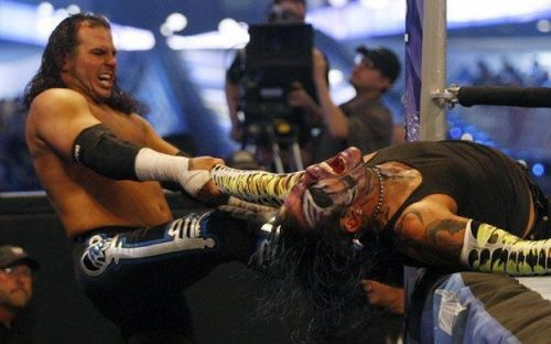 Before the compound and the dilapidated boat came Extreme Rules.