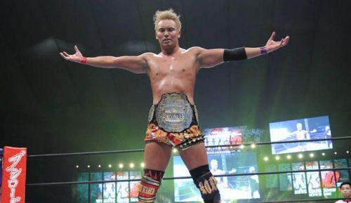 This man is on top of the wrestling world right now