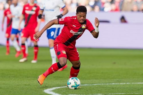 Bayer Leverkusen's Leon Bailey is a top talent in the Bundesliga right now