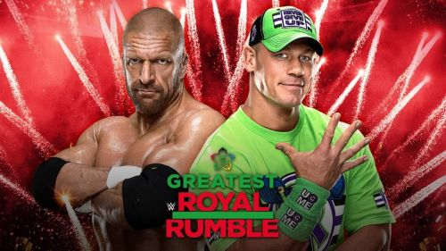 John Cena will take on Triple H at the Greatest Royal Rumble event