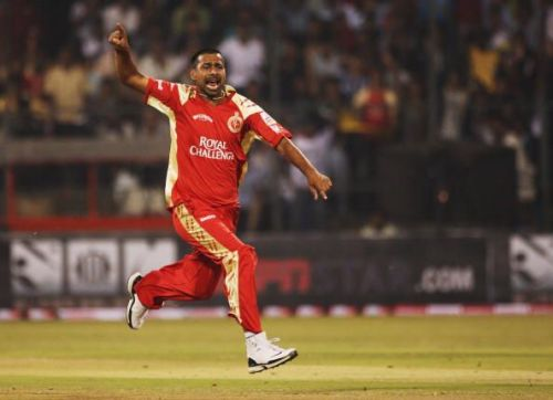 Praveen Kumar of RCB bowled the first ball in IPL history