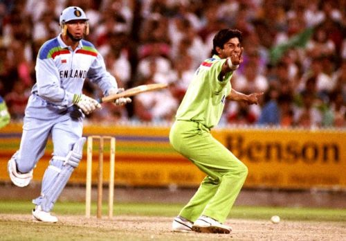 After his cameo with the bat, Wasim Akram produced a fantastic spell with the ball