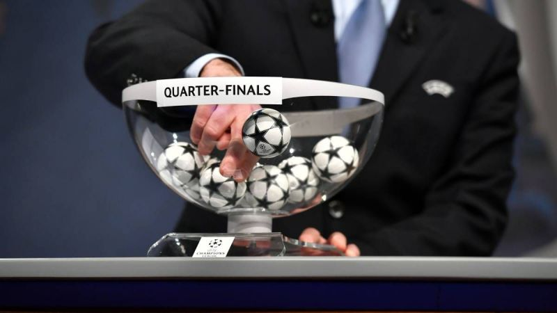 The UEFA Champions League quarter final draw is out