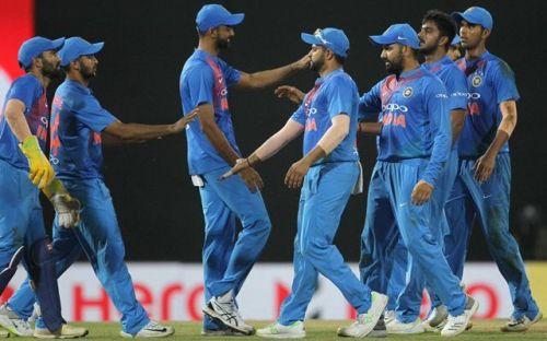 Image result for Sri Lanka vs India, 4th T20I, Nidahas Trophy 2018