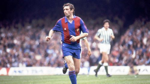 Quini was a great scorer of goals despite his rather ungainly appearance
