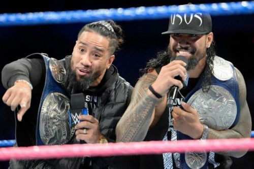 The Usos are the current Smackdown Live Tag Team Champions