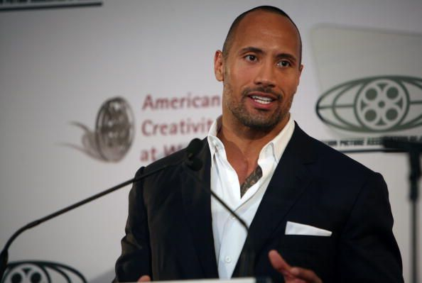 Dwayne Johnson Speaks At A Motion Picture Association Of America Sympo