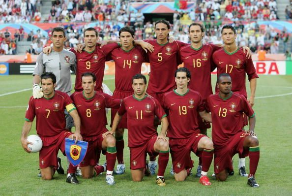 Group D Angola v Portugal - World Cup 2006
