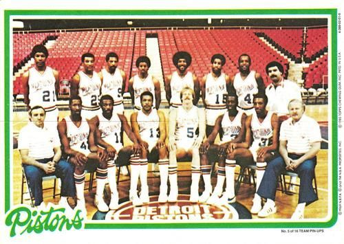 The 1980-81 Detroit Pistons