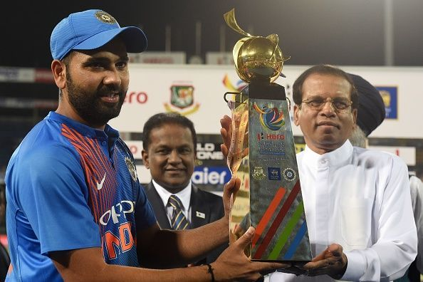 Rohit Sharma led a young team to the Nidahas Trophy in Sri Lanka