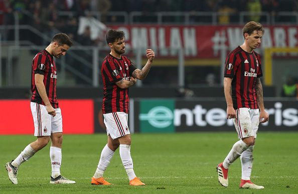 The Rossoneri were far from their best on the night