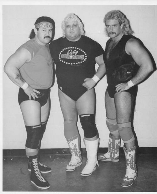 Dusty and Manny, along with close ally Magnum TA (left.)