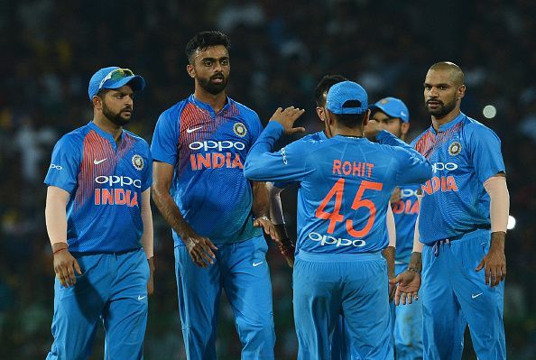 India had lost the first T20I against Sri Lanka