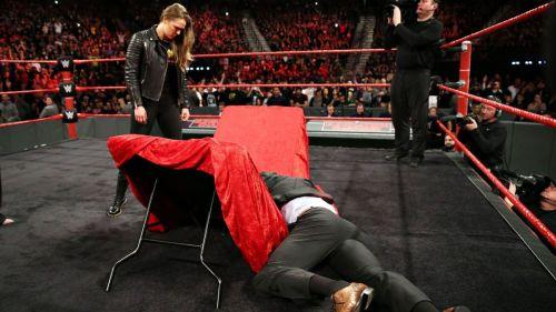 Ronda Rousey Triple h