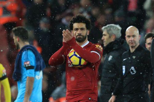 Salah scored four goals against Watford