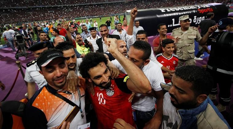 Salah has carried Egypt to the World Cup all by his own.