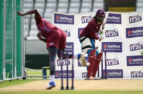 England & West Indies Nets Session