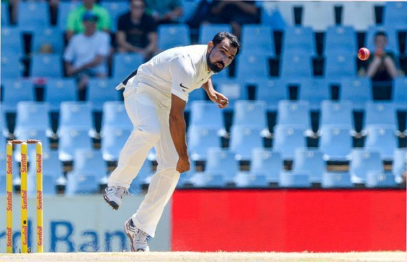 Shami is the 3rd fastest Indian pacer to reach 100 Test wickets