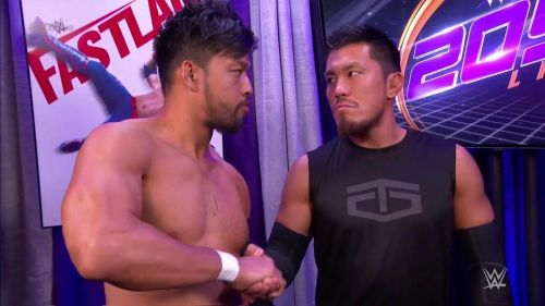Hideo Itami and Akira Tozawa aren't wasting any time
