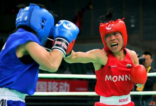Mary Kom (R) will be the cynosure of all eyes when the tournament kicks-off in early April