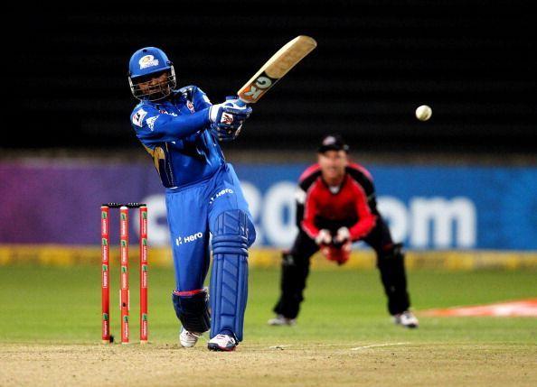 CLT20 2012 Match 18 - Sydney Sixers v Mumbai Indians