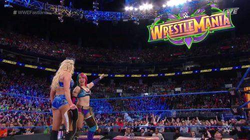 Asuka vs. Charlotte WrestleMania 34