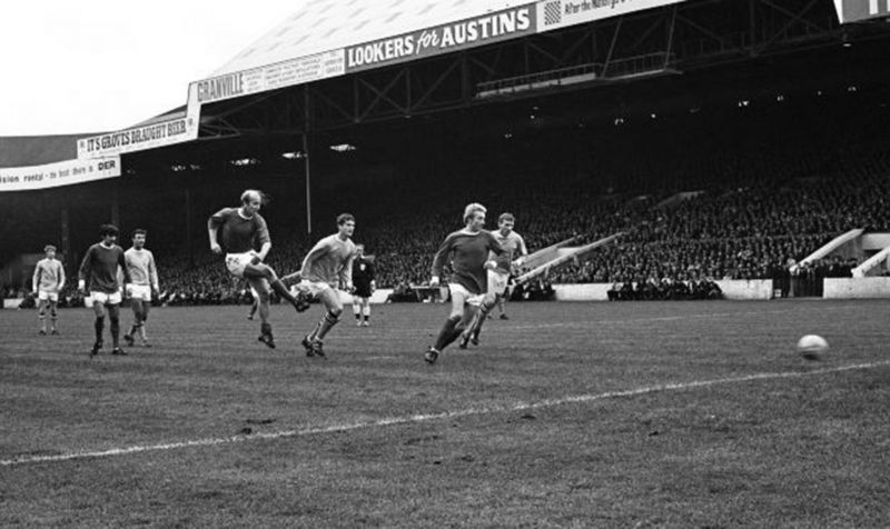 Manchester derby at Maine Road