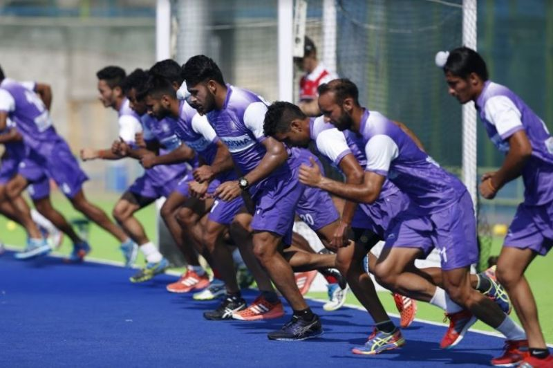The Indian hockey team has a tough task ahead of the Commonwealth Games.