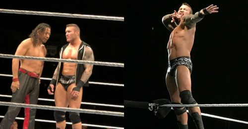 The Viper and the King of Strong Styles teamed up in the main event.