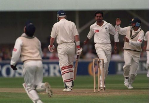 Wrecker in chief at Wankhede, 1994
