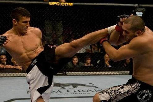 Goran Reljic (left) is still fighting despite his last UFC appearance being in 2010