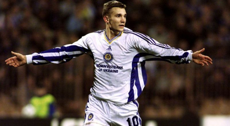 Andiry Shevchenko scored a hatrick over two legs to eliminate Real Madrid