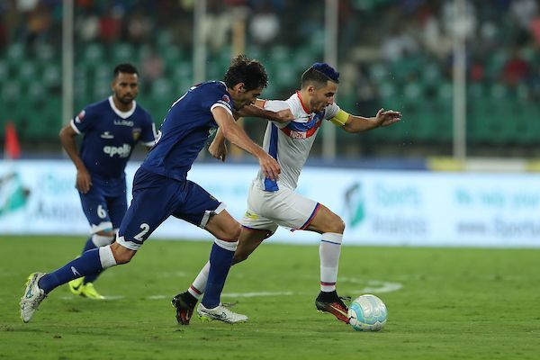Action from the match (Photo: ISL)