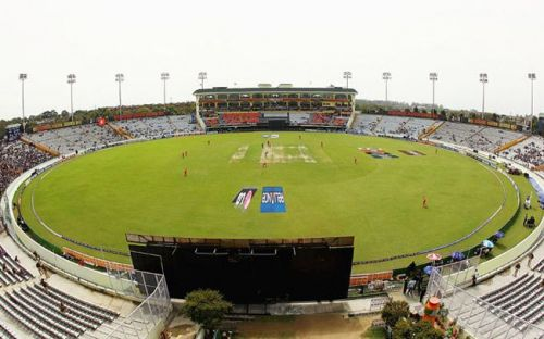 The Mohali Ground