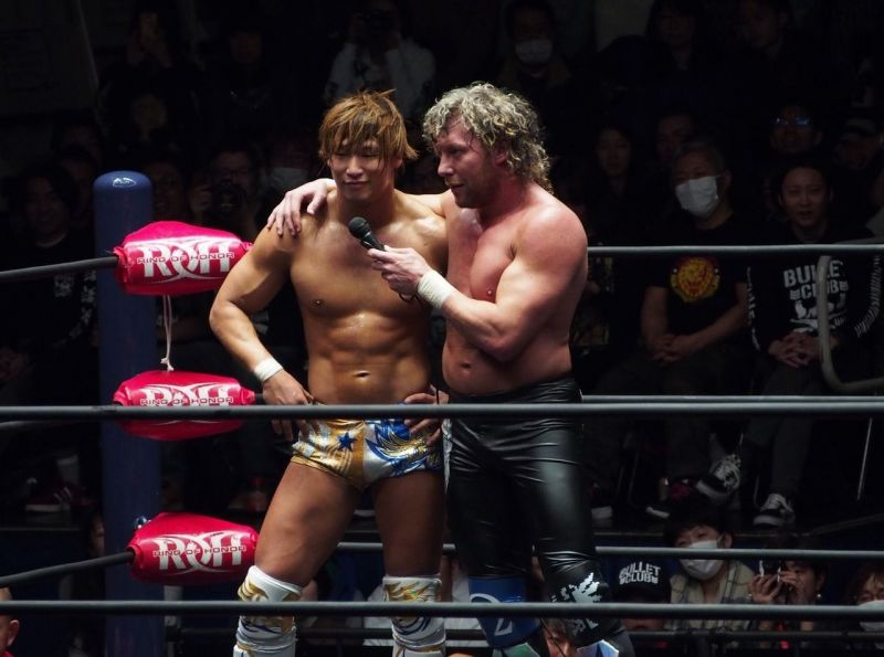 A Spark Reunited A Look At The History Of Njpw S Golden