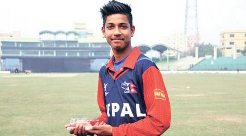 Image result for sandeep lamichhane