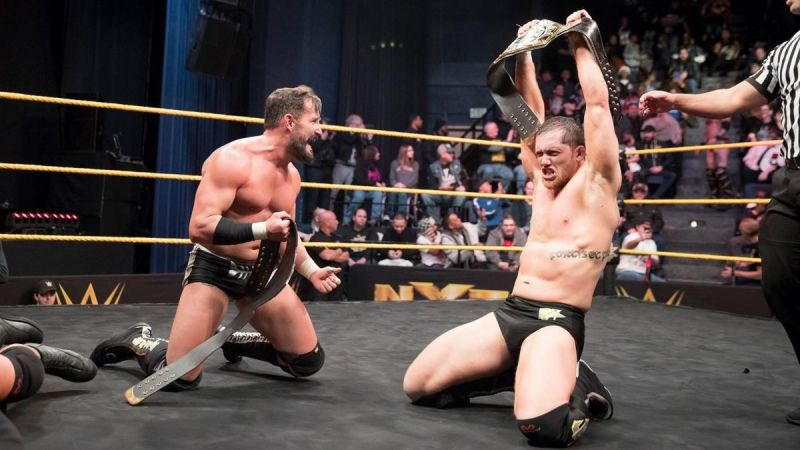 The Undisputed Era (Bobby Fish and Kyle Reilly)