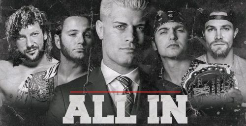 Cody and the Young Bucks are the brains behind the ALL IN show