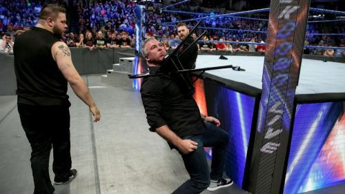 Sami and Kevin finally let Shane have it on this week's Smackdown. Potentially setting up a Wrestlemania showdown with the Commissioner