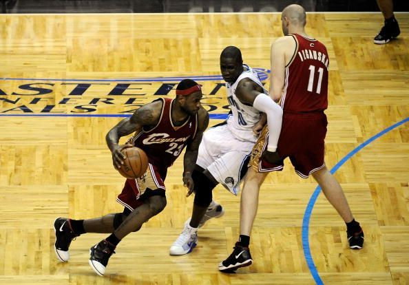 Cleveland Cavaliers v Orlando Magic, Game 3