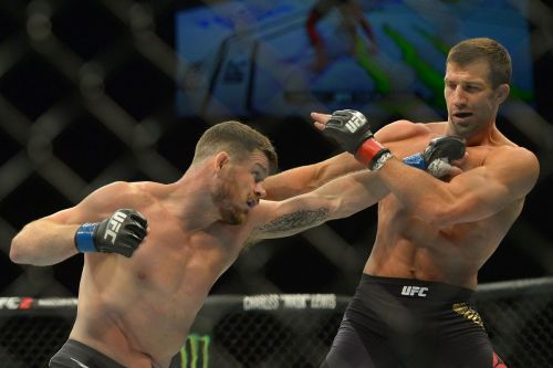 Bisping says he isn't bothered about moving up to the Light Heavyweight Division