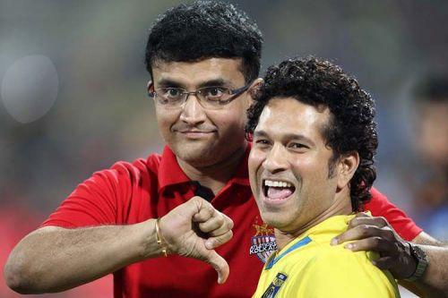 Sachin and Sourav