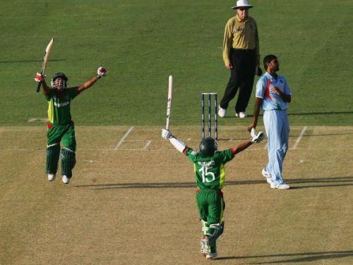 Group B, Bangladesh v India - Cricket World Cup 2007