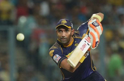 Robin Uthappa was a part of the KKR team that won the IPL in 2014