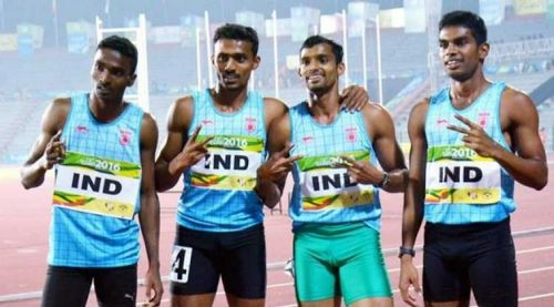 Dharun made it to the Rio Olympics as a part of the 4x400m relay team for India.