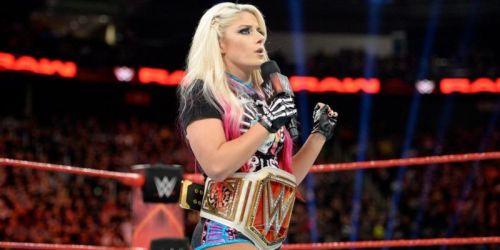 WWE Raw Women's Champion Alexa Bliss