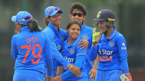 The Indian team were finalists in last year's World Cup