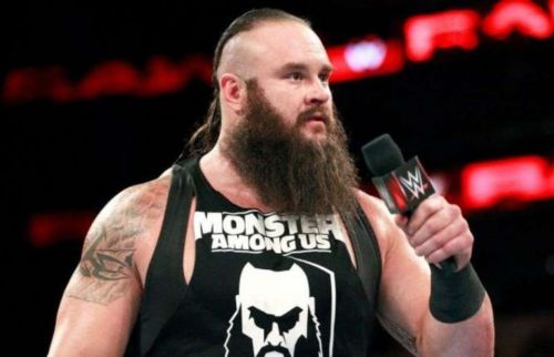 Braun Strowman's WrestleMania plans have changed a number of times