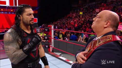 Some interesting plans were afoot for Roman Reigns